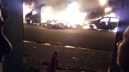 Brandweerwagen vernield en apotheker geplunderd in Molenbeek, hulpdiensten bekogeld met stenen en vuurwerk