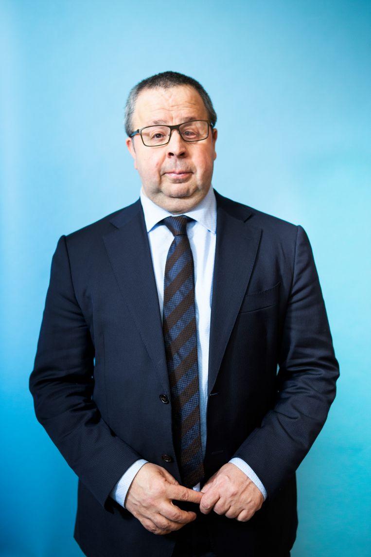 Sander Terphuis, Nederlandse ambtenaar van Iraanse afkomst. Beeld Pauline Niks