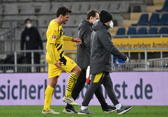 Mats Hummels liep een blessure op.