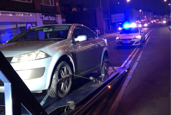 Een man in Engeland raakte binnen een minuut de auto kwijt die hij net had gekocht