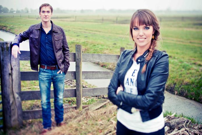 Anne-Mar Zwart en Herman Wegter van de EO
