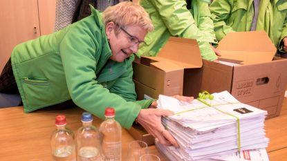 Vakbonden overhandigen 67.000 handtekeningen aan minister Kris Peeters in strijd voor meer koopkracht en beter kader rond eindeloopbaan
