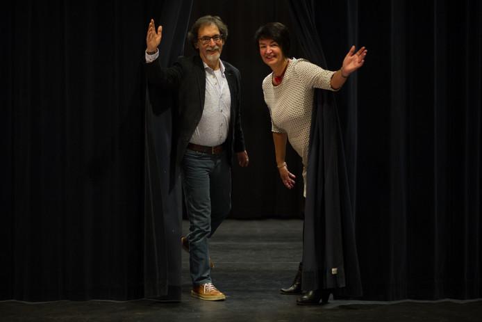 Jan Uitdehaag en Lenie Ratelband.