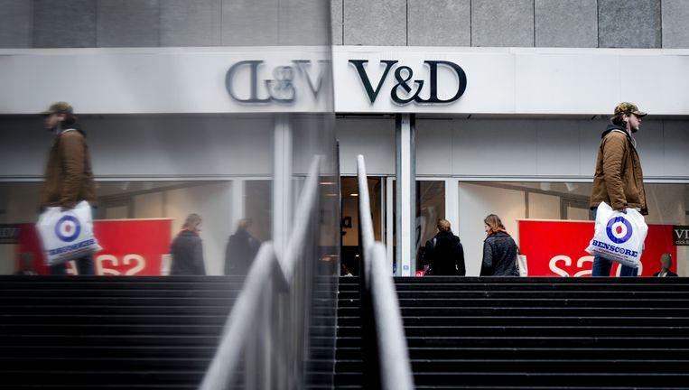 De V&D-vestiging in Rotterdam-centrum Beeld anp