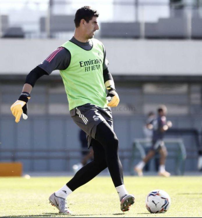 Thibaut Courtois tegen Valladolid op zoek naar een tweede clean sheet.