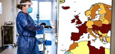 La Belgique à la 2e place du classement des pays européens les plus touchés