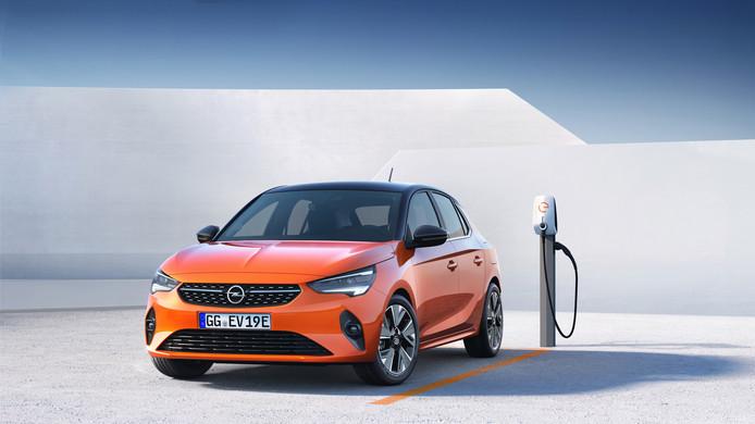 De elektrische Opel Corsa-e verschijnt begin volgend jaar