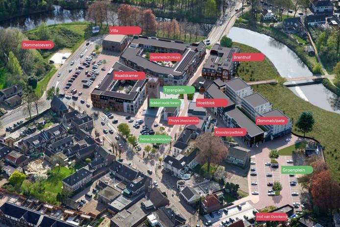 Zo ziet het centrum van Sint-Michielsgestel er over een tijd uit.