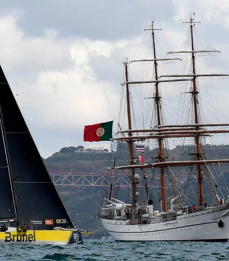'Verdwijntruc' Team Brunel in Volvo Ocean Race