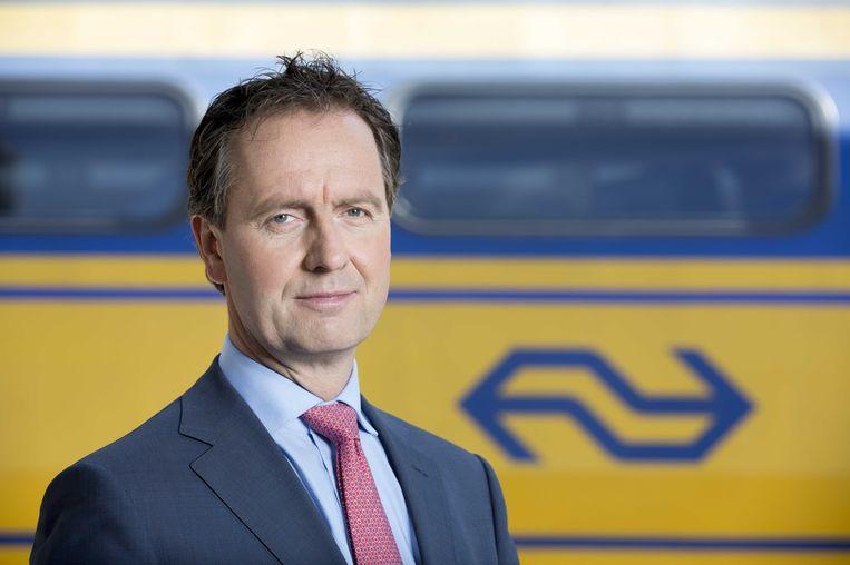 De ontslagen NS-topman Timo Huges. Beeld anp