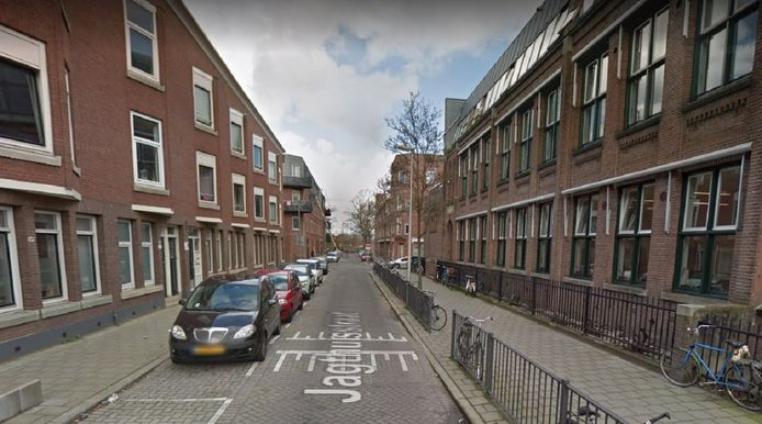 De Jagthuisstraat in Rotterdam-West.