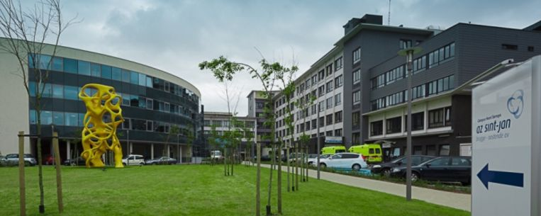 OOSTENDE - Het Henri Serruysziekenhuis in Oostende