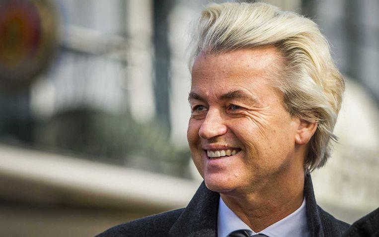 Wilders: griep een godsgeschenk... Beeld ANP