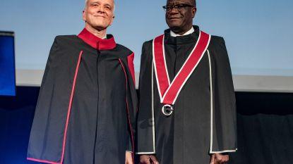 """""""Hij verheft zijn stem, zelfs met gevaar voor eigen leven"""": Nobelprijswinnaar Denis Mukwege krijgt eredoctoraat in Universiteit Antwerpen"""
