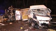 Trucker kon spookrijdster net ontwijken
