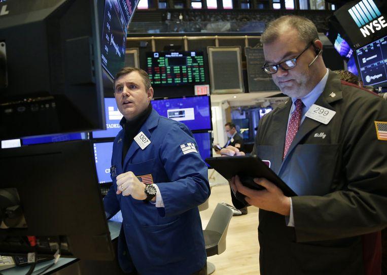 Wall Street is vrijdag weer in een neerwaartse spiraal terechtgekomen.