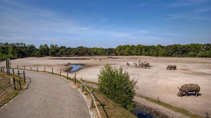 'Nieuw' Safaripark open voor zesduizend mensen per dag