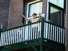 Senioren gaan massaal aan de balkongym