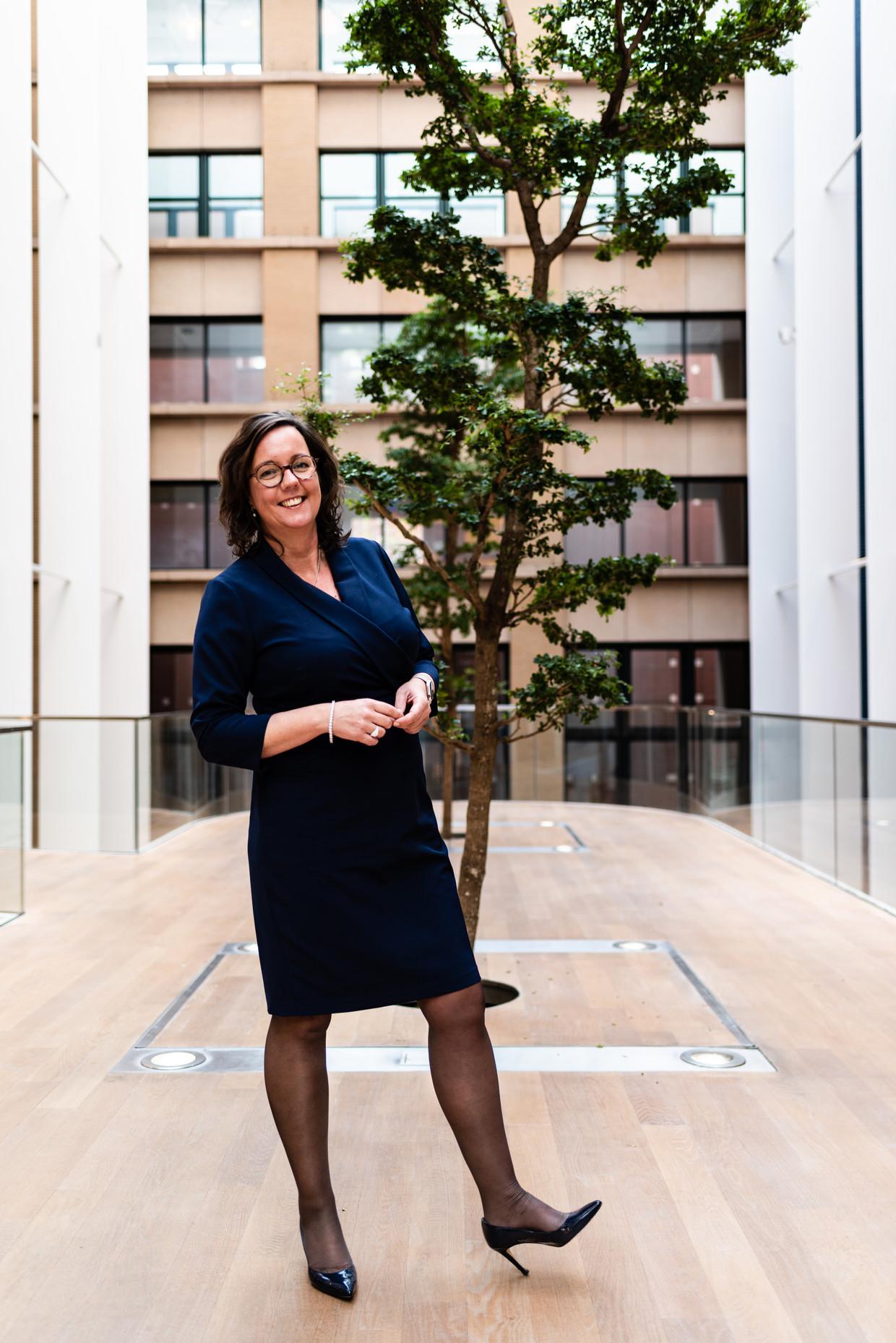 Tamara van Ark van de VVD is staatssecretaris van Sociale Zaken en Werkgelegenheid. Beeld null