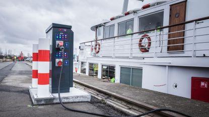 Nieuw: walstroomkasten voor de binnenvaart