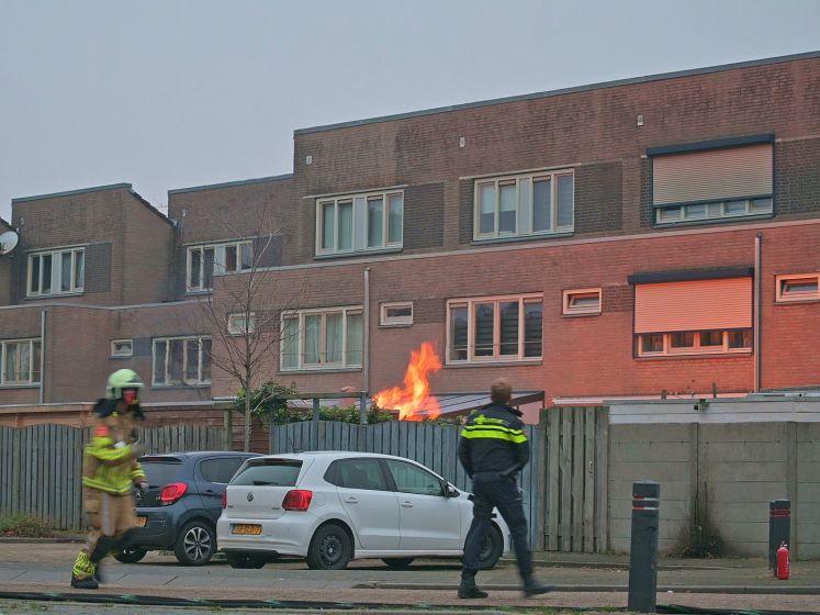 Man zwaargewond bij ontploffing in schuur in Breda