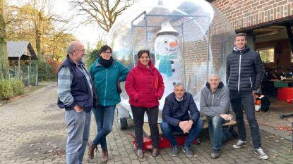 """Zoerselse familie die al twee keer won, bouwt sneeuwbol voor tractorrun: """"We gaan voor de top 3"""""""