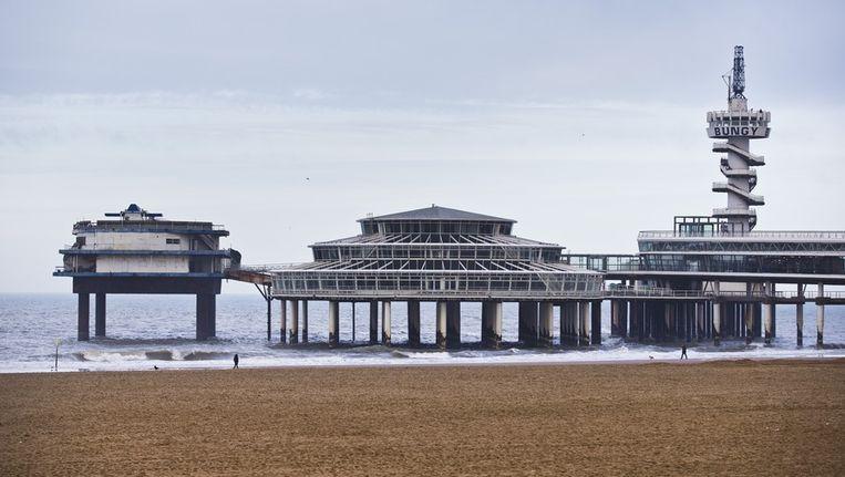 De Pier van Scheveningen is niet brandveilig bevonden. Beeld anp