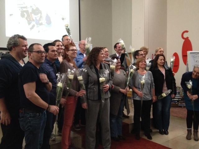 De groep deelnemers aan De 24 uur van... Den Bosch.