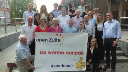 Dertien nieuwe gezichten op Open Zulte-lijst