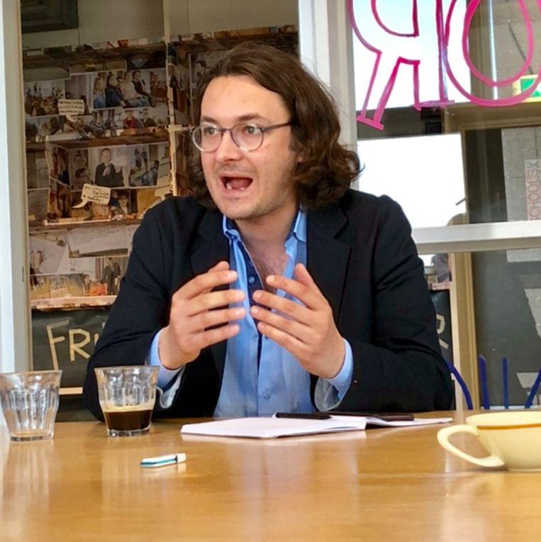 Ben Judah beschrijft Londen als migrantenstad. Beeld Margriet Oostveen
