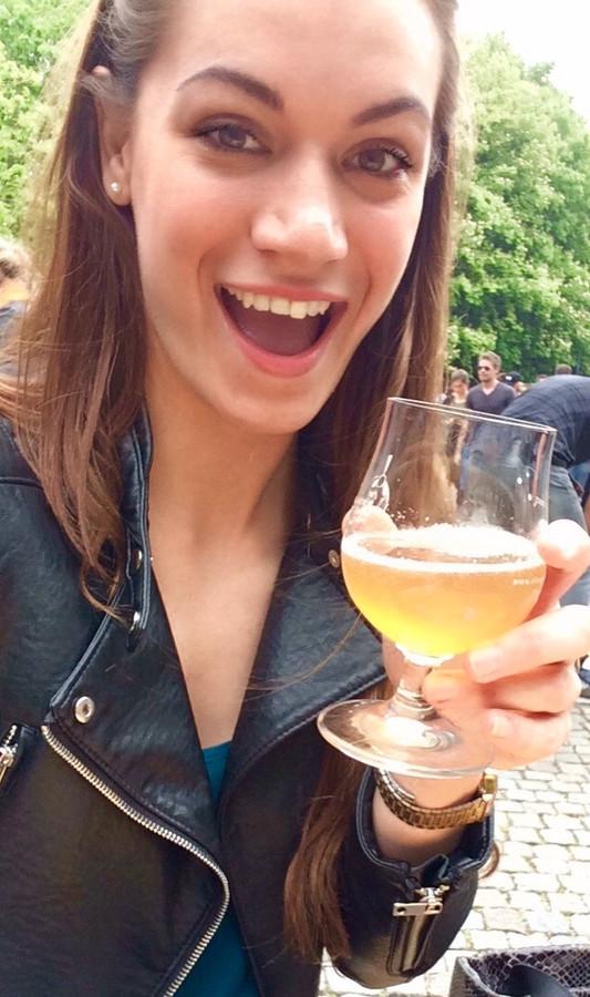 Eline de Ridder: 'De kleur en geur van een biertje doen al veel, maar een krachtige smaak geeft voor mij altijd de doorslag!'