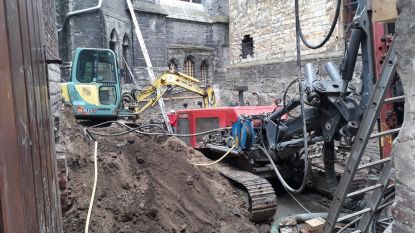 Kindergraven ontdekt bij graafwerken aan Sint-Baafs