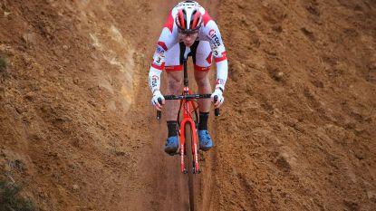 """Kampioenschapsrenner Laurens Sweeck en de strijd om zilver: """"Zand geeft me klein voordeel"""""""