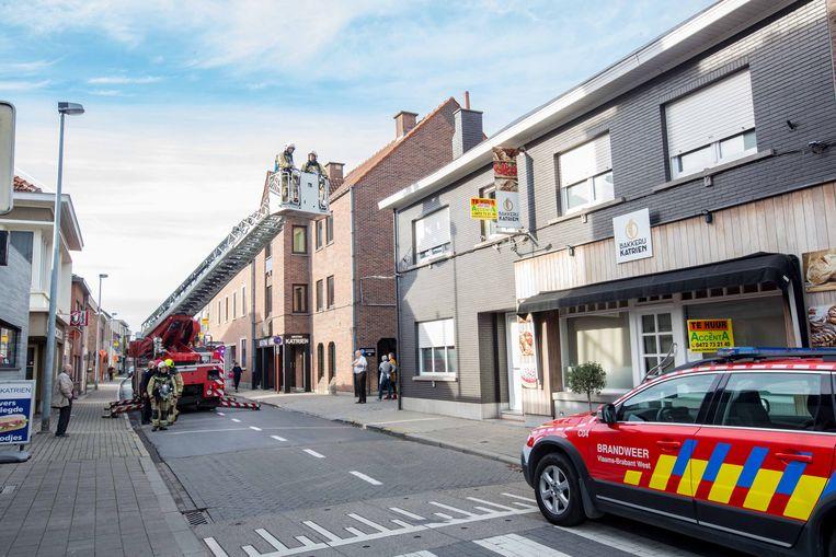 De brandweer kon na een inspectie van het gebouw opnieuw vertrekken