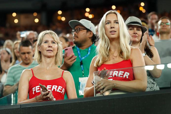 Fans van Roger Federer.
