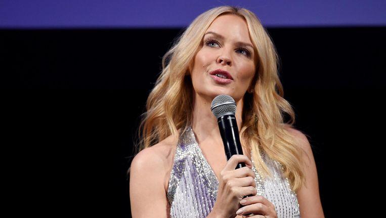 Kylie Minogue trad in 2011 voor het laatst in Nederland op Beeld ANP