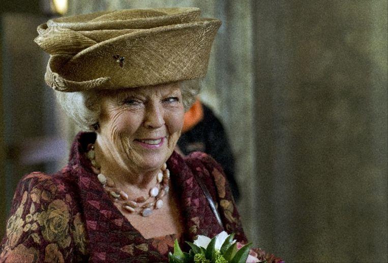 Koningin Beatrix viert vandaag haar 73e verjaardag. ( ANP) Beeld ANP