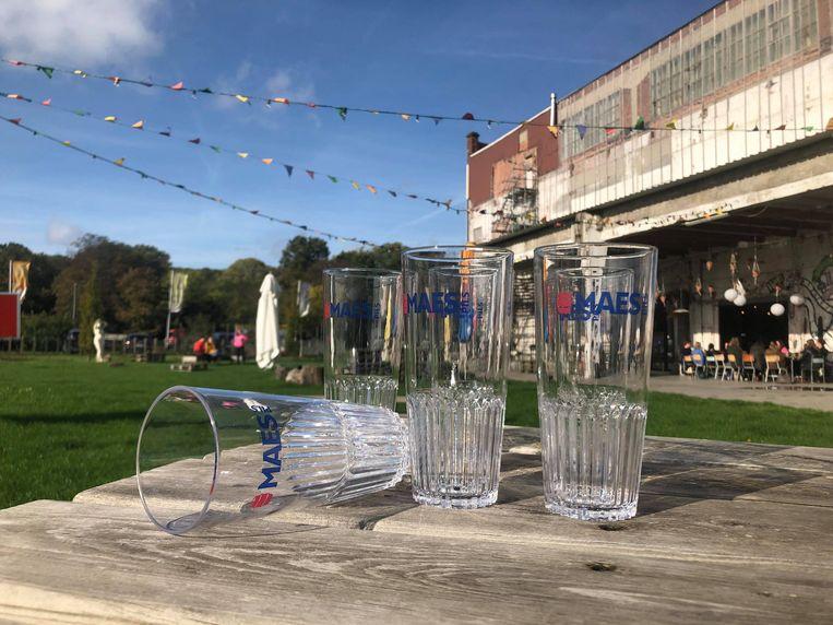 De Kruitfabriek  - Herbruikbare bekers: bijna niet van glas te onderscheiden