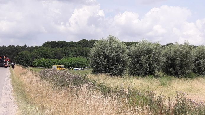 Incident met vliegtuigje in Bosschenhoofd