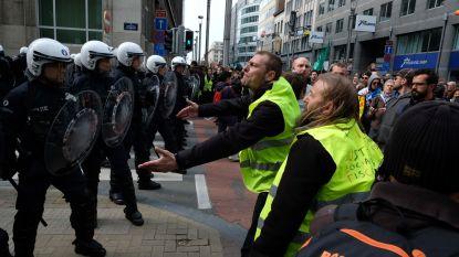 Vijf betogingen in Brussel: klimaatbetogers distantiëren zich van relschoppers
