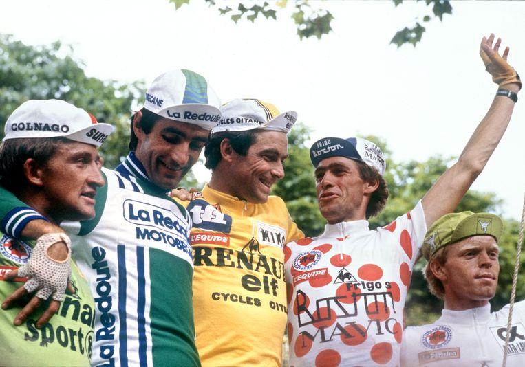 Onder meer in 1981 kaapte Freddy Maertens de groene trui weg.