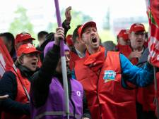 Werknemers durven weer op de barricaden