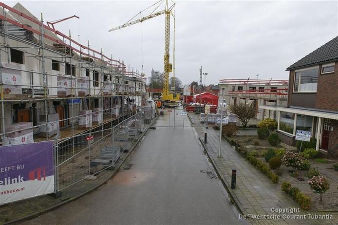 De nieuwbouwwijk Op de Bleek in Eibergen.