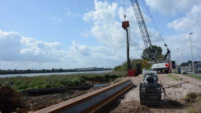 Aannemer Oosterweelwerken kiest voor transport over water en haalt zo 34.000 vrachtwagens van de weg