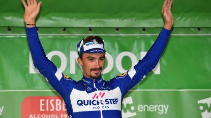 KOERS KORT (13/09). Alaphilippe zet teller voor Quick.Step op 63 - Domper voor Geschke in Vuelta - Van Avermaet verwelkomt Italiaanse sprinter