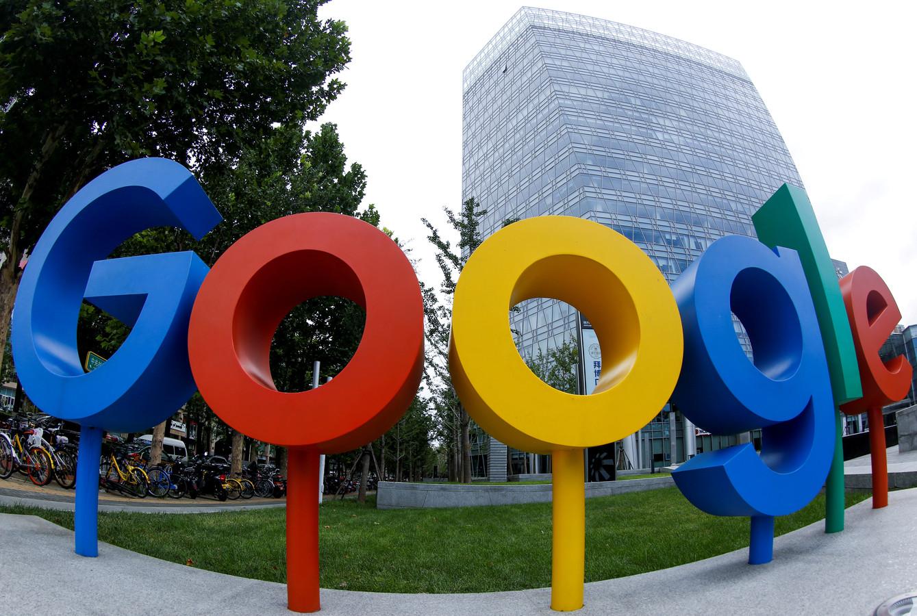 Het Google-kantoor in de Chinese hoofdstad Beijing.