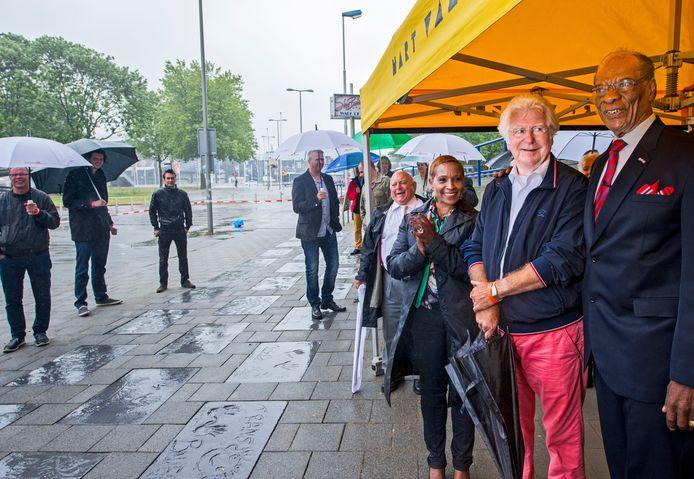 De Walk of Fame werd in 2014 verplaatst naar Rotterdam-Zuid nabij het Zuidplein.