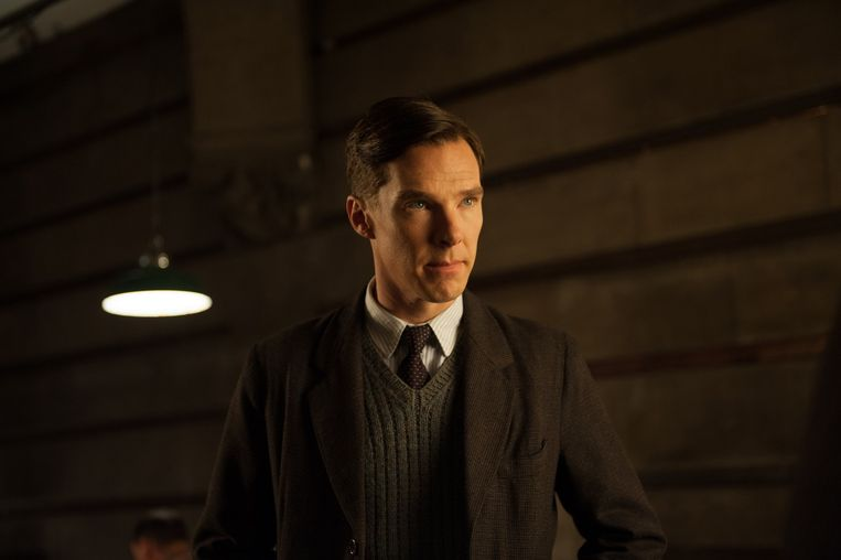 Benedict Cumberbatch als Alan Turing in The Imitation Game. Beeld Jack English
