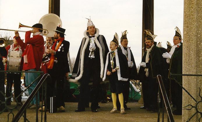 Carnaval 1988-1989 Jeugdprins Jochem Hekker met Prins Jan d'n Irste