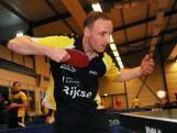 Tafeltennissers TTC Middelburg laten punten achter bij nummer laatst